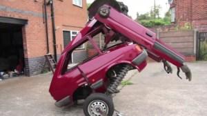 Un Transformer construit à partir d'une Ford Fiesta