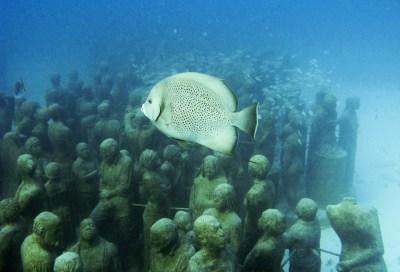 Un musée sous-marin au Mexique