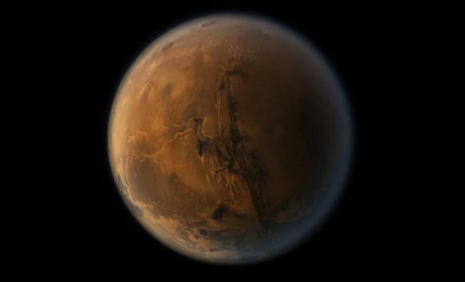 Des organismes viables découverts sur Mars