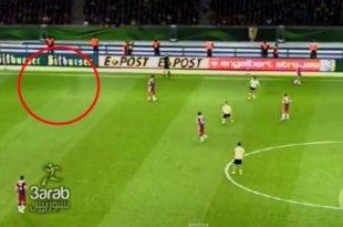 Nouvelle apparition d'un fantôme lors du match Dortmund-Bayern
