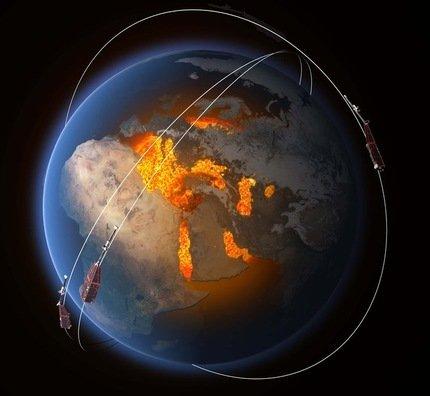 Des fissures détectées dans le bouclier magnétique de la Terre