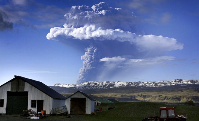 Volcan Islandais : baisse du niveau d'alerte