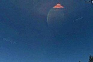 Un OVNI et un extraterrestre repérés sur Google earth