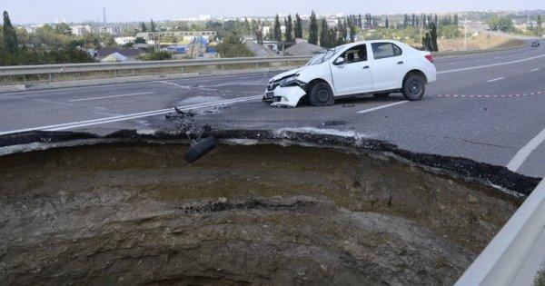 Tragédie en Crimée : de nouveaux tassements du sol sont possibles.