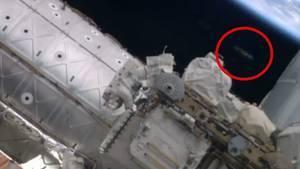 Un OVNI repéré sur une vidéo des astronautes de l'ISS