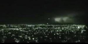 Une vidéo d'OVNIS qui vient de Bogota