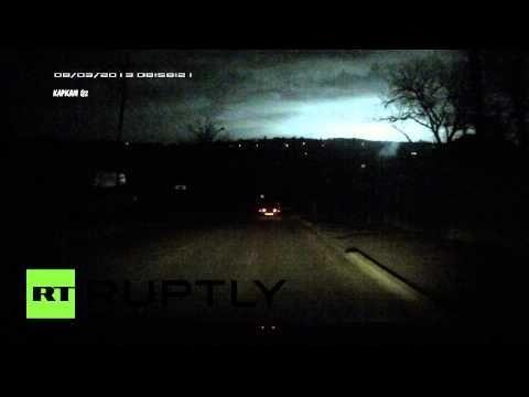Météorite: explosion au dessus de la Russie