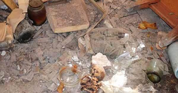 Un extraterrestre momifié découvert dans un laboratoire russe abandonné