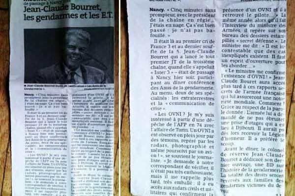 Jean-Claude Bourret, les gendarmes et les extraterrestres
