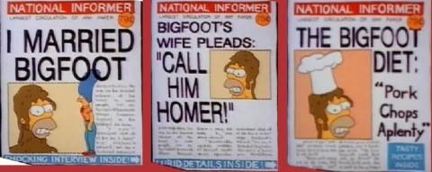 Est-elle parente avec Marge Simpson?