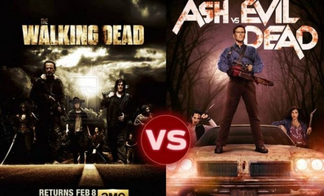 ASH VS THE WALKING DEAD: L'IMPROPABLE CROSSOVER EVIL DEAD ET THE WALKING DEAD