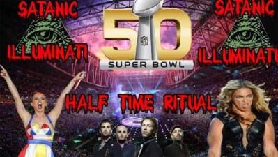 Les rituels semi-sataniques du Super Bowl Illuminati 2016 exposés
