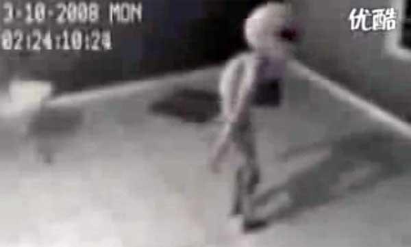 Un extraterrestre capturé et emprisonné en 2008