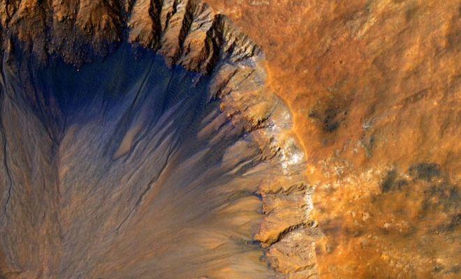 Des coquillages sur Mars? Pourquoi pas