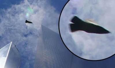 Un ovni photographié au dessus de Ground Zero