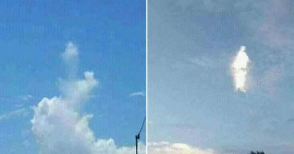 Des allégations que « Jésus est un extraterrestre » vont bon train après que la Vierge Marie ait apparue dans le ciel