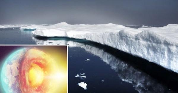 La chaleur du manteau terrestre fait fondre la calotte glaciaire du Groenland indique une nouvelle étude