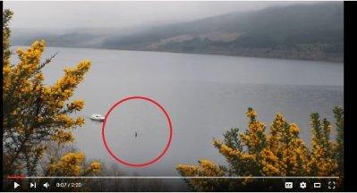 Le célèbre monstre du Loch Ness fait sa réapparition