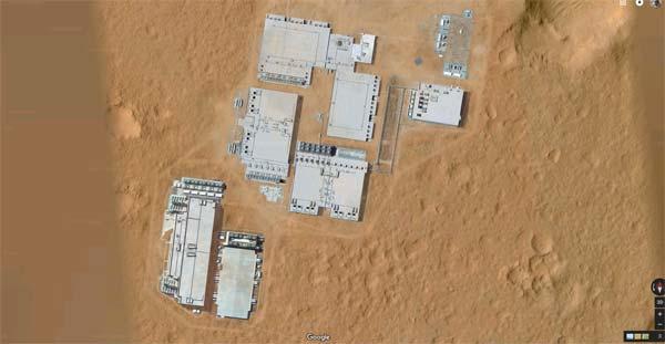 Vidéo: Il y a des installations humaines sur Mars visibles dans Google Map