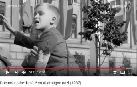 Vidéo: Possible Voyageurs Temporel repéré à Berlin en Allemagne Nazie en plein été 1937