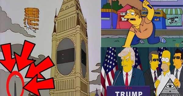 Vidéo: Les Simpsons ont prédit le futur 25 FOIS