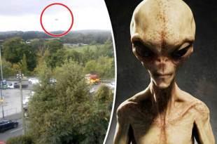 Royaume-Uni : Un OVNI repéré alors qu'il survolait un accident de voitures