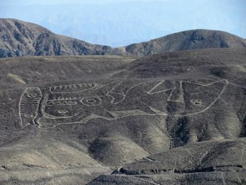 Un nouveau géoglyphe découvert dans le désert de Nazca au Pérou