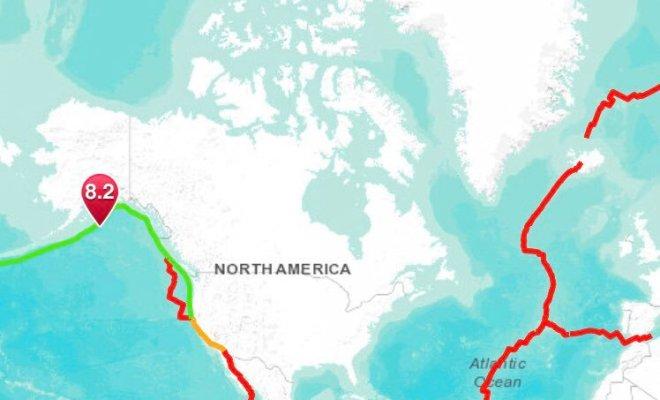 Séisme de magnitude 8.2 en Alaska, fin de l'alerte au tsunami