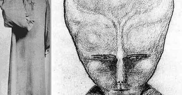 Une peinture d'Aleister Crowley de 1918 représenterait un Petit Gris extraterrestre