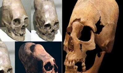 """Vidéo: Vérité CHOQUANTE sur un mystérieux """"crâne extraterrestre"""" exhumé en Europe occidentale"""