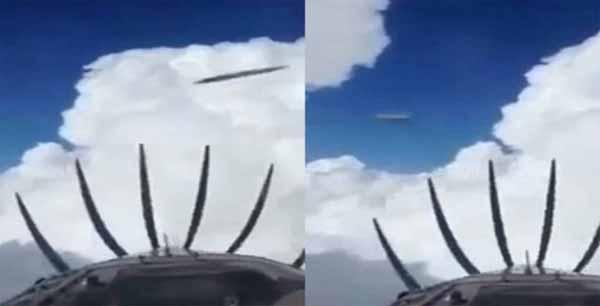 Vidéo: Un pilote d'avion filme deux OVNIs dans le ciel