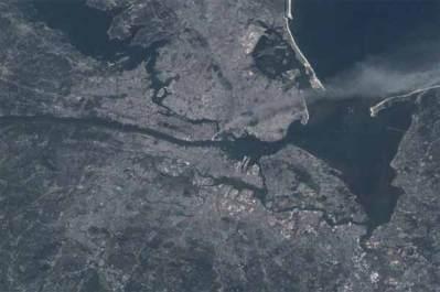 Le 11 septembre 2001, il y avait un Américain dans l'espace. Voici la photo qu'il a prise depuis l'ISS