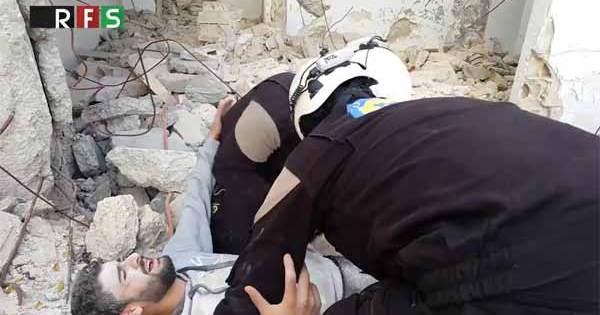 Vidéo: Les Casques Blancs sont capables de ressusciter les Morts en SYRIE