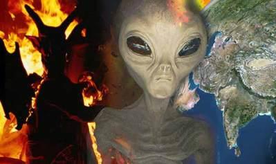 """Les Extraterrestres sont """"envoyés par le Diable"""" pour DÉTRUIRE LA TERRE"""