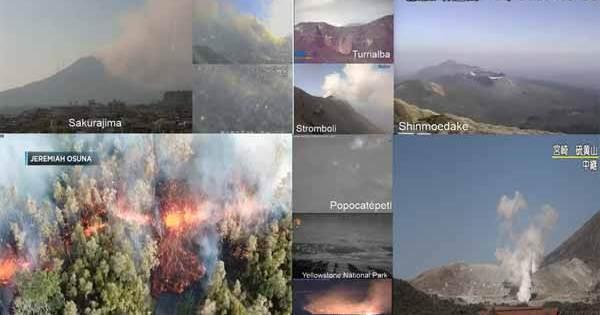 Vidéos: Un volcan à Hawaï est finalement entré en éruption