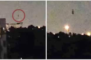 Vidéo: Un étrange « drone » filmé à Houston, au Texas