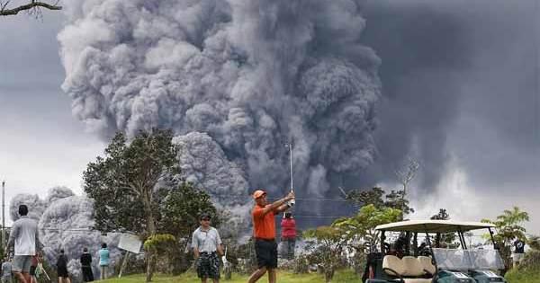 Hawaï passe en ALERTE ROUGE pour l'éruption majeure du volcan Kilauea; Des Boules de Laves pourraient être projetées à plus de 30 mètres de haut