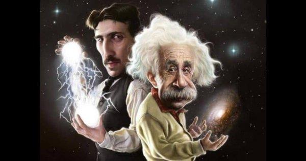 Nikola Tesla et Albert Einstein: les clés de l'univers