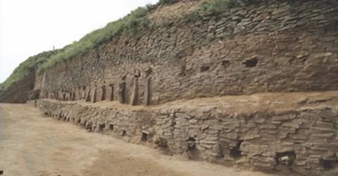 Shimao : des archéologues révèlent les vestiges d'une pyramide vieille de 4300 ans en Chine