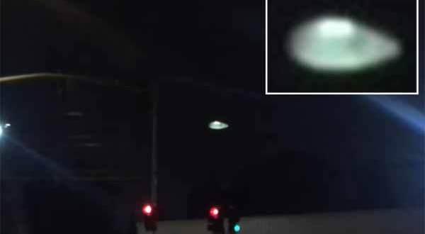 Un super OVNI filmé à La Mirada, en Californie