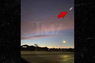 """Des photos Limpides du """"VAISSEAU MERE""""… à Los Angeles !!"""