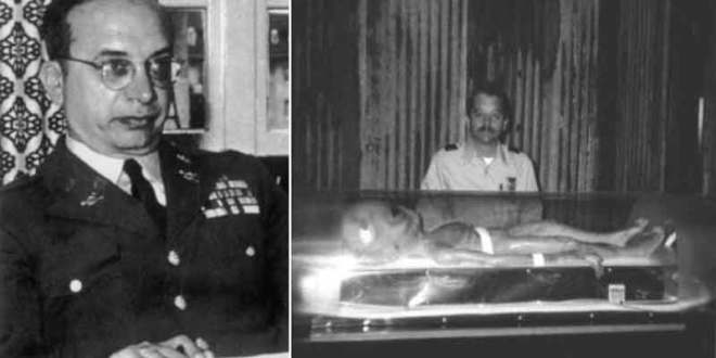 Philip J. Corso : J'ai vu des cadavres d'extraterrestres