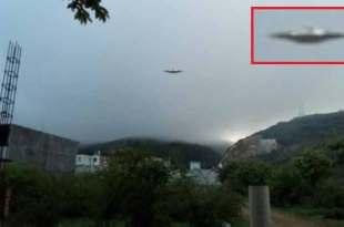 Une soucoupe volante filmée au-dessus de Oaxaca