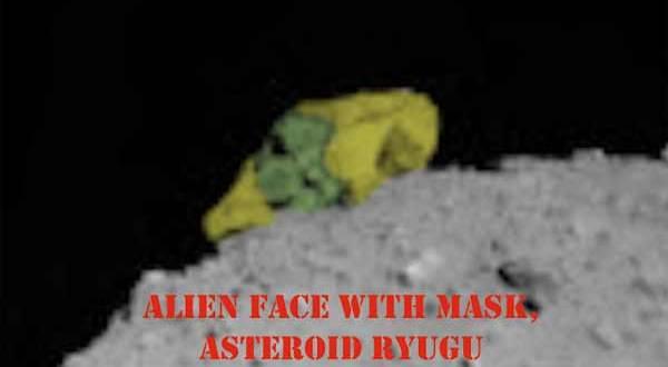 Un Crâne Extraterrestre Découvert sur l'Astéroïde Ryugu