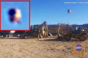 Un OVNI repéré sur un chantier de construction