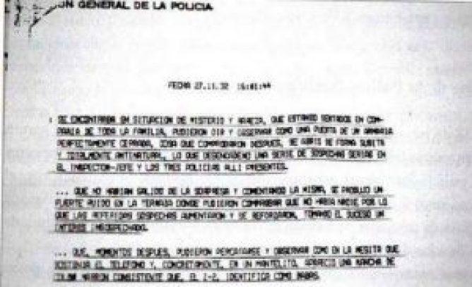 Vallecas case police report