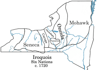 map of the six nations