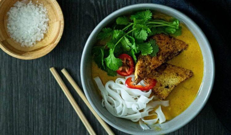 Tofu-kurpitsalaksa
