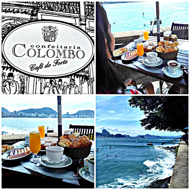 Café da Manhã na Confeitaria Colombo