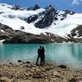 Glaciar Vinciguerra e Laguna de los Tempanos